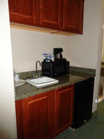 BEST WESTERN PLUS Woodway Waco South Inn & Suites : fridge/microwave/sink/counter