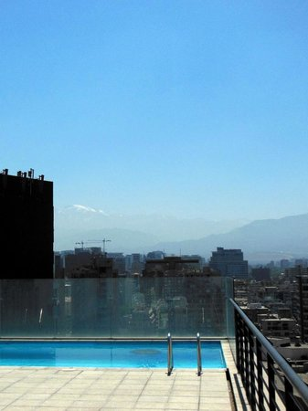 Travel Place Apartments: Andes in the background