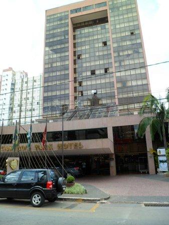 Castro's Park Hotel : Fachada do hotel