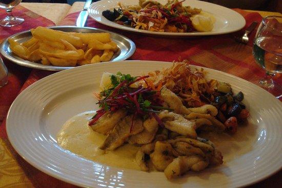 Visite d'Yvoire : 現炸魚片