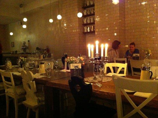 Michelberger Hotel: Al ristorante
