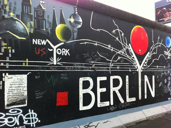 Michelberger Hotel: Il muro