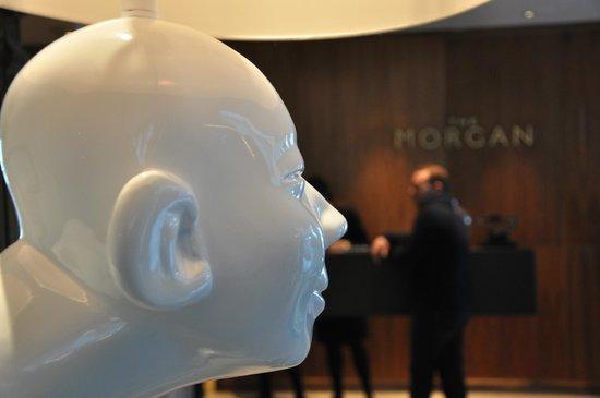 The Morgan: particolare della Hall!