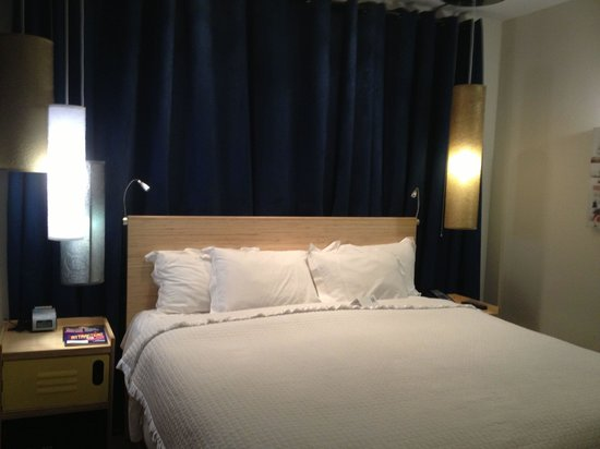 NYLO New York City: Most comfortable King bed ever!