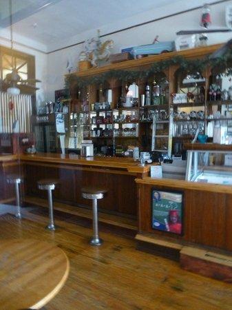 Edgewater Hotel: ice cream parlor