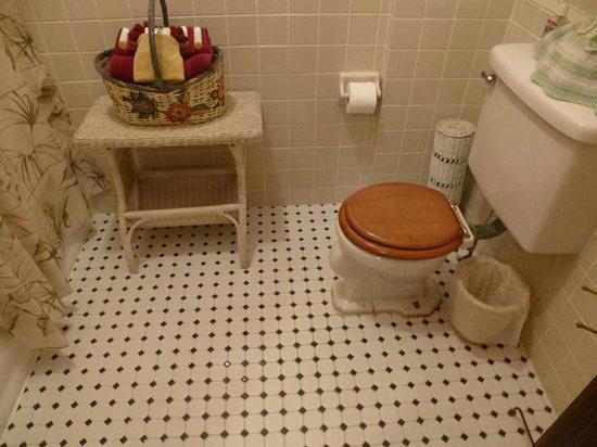 Edgewater Hotel: bath