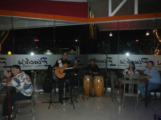 Pinchos Grill & Lounge: Live music every Saturday night