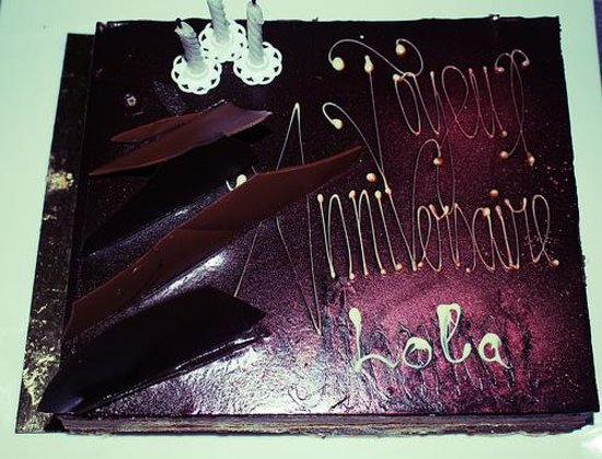 La Residence Dakar: Birthday cake