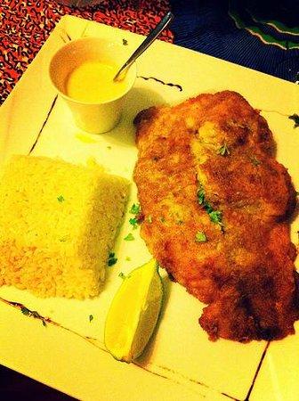 La Residence Dakar: dinner at La Residence