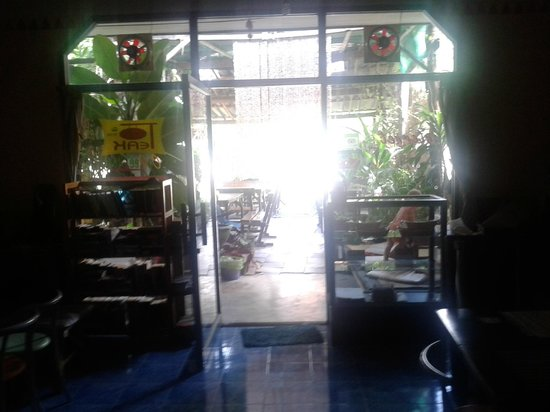 Peak Cafe: view from inside