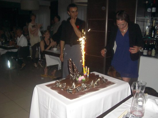 Hotel Belvedere: Happy Birthday to you!