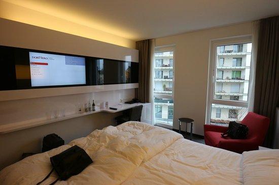 DORMERO Hotel Frankfurt: Zimmer mit Aussicht