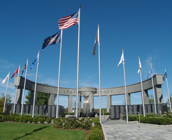 Delaware County Veterans Memorial in Newtown Square