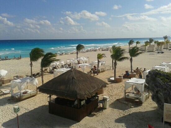 Sunset Royal Beach Resort: Disfrutando del sol!!!