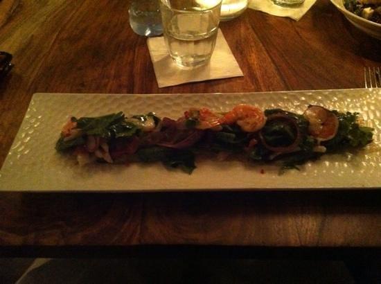 Shila - Sharon Cohen's Kitchen & Bar: my sea food salad