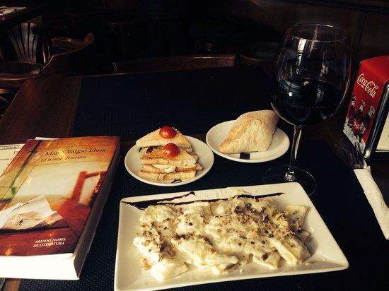 Fogón Y Candela: Ravioles de carne a los 4 quesos