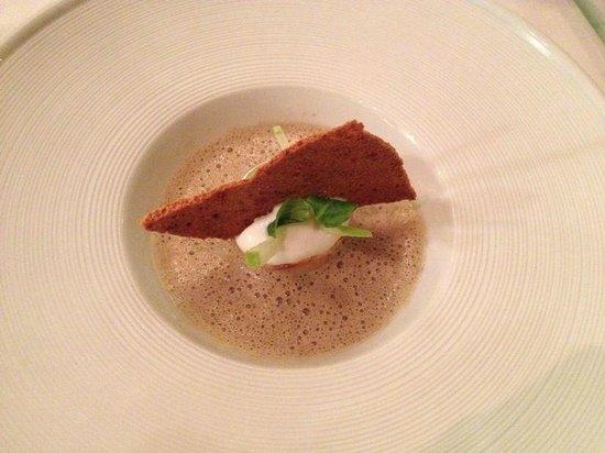 Domaine de Chateauvieux: soupe aux champignons