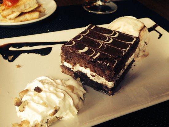 Fogón Y Candela: Tarta de chocolate con helado