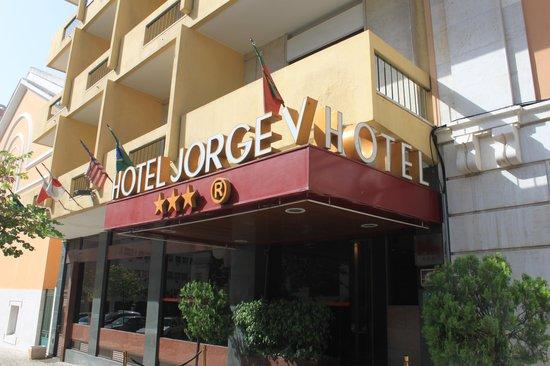 Hotel Jorge V: fachada do hotel