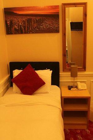 Edgerton Hotel : Single Bedroom