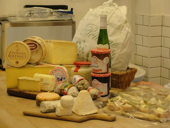French Foodie in Dublin: French produce in Sheridans