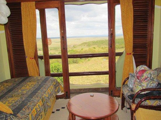 Mara Serena Safari Lodge: bela vista