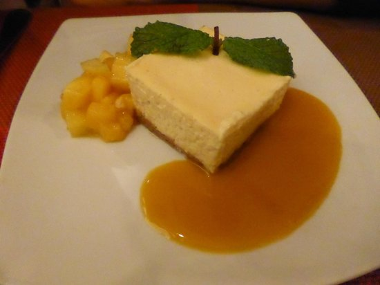 L'Ange 20 Restaurant : Cheesecake-AMAZING