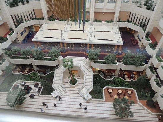 Hilton Prague: vista dall'ascensore