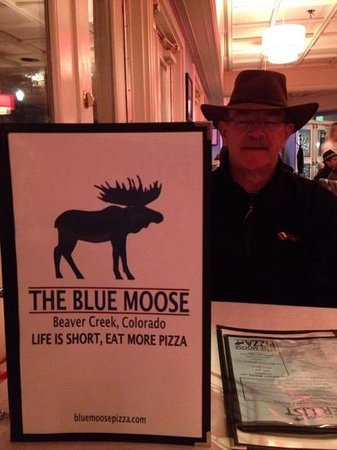 Blue Moose: Eat more pizza!