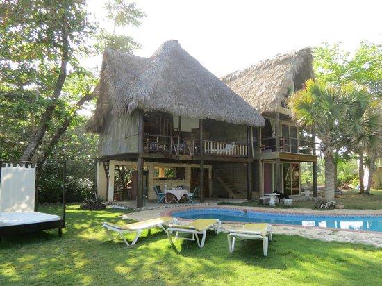 Cabarete Maravilla Eco Lodge & Beach: Cabana do B&B