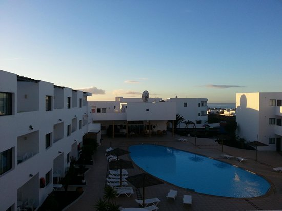 Aparthotel Lanzarote Paradise : View from room B23