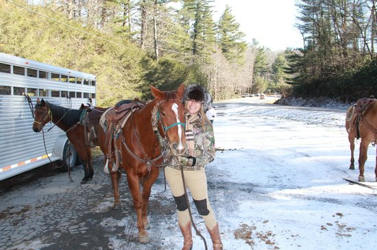 Tim and Kelly - Picture of Vx3 Trail Rides, Blowing Rock