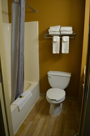 Extended Stay America - Albuquerque - Rio Rancho: bathroom