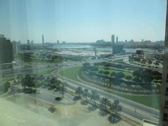 Marriott Executive Apartments Dubai Creek: View from the room
