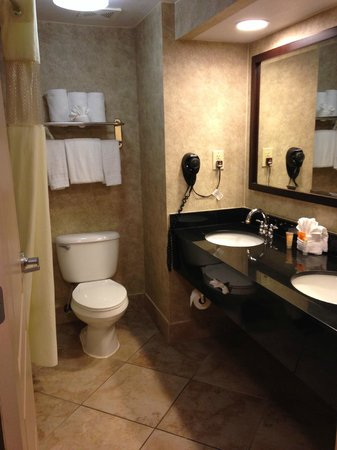 Galleria Palms Hotel: Very nice and clean bathroom