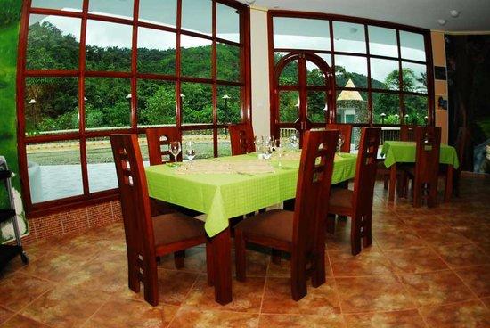 Foto de Hacienda Río Blanco, San Miguel de los Bancos: Comedor ...