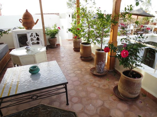 Riad Le Coq Berbere: Roof Terrace