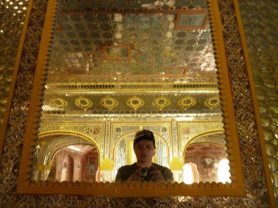 Samode Palace : Зеркала