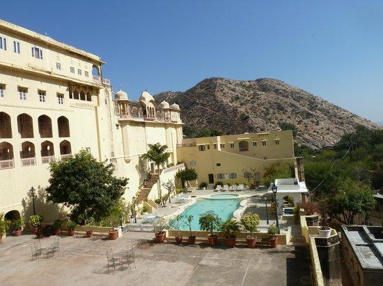 Samode Palace : Вид из окана
