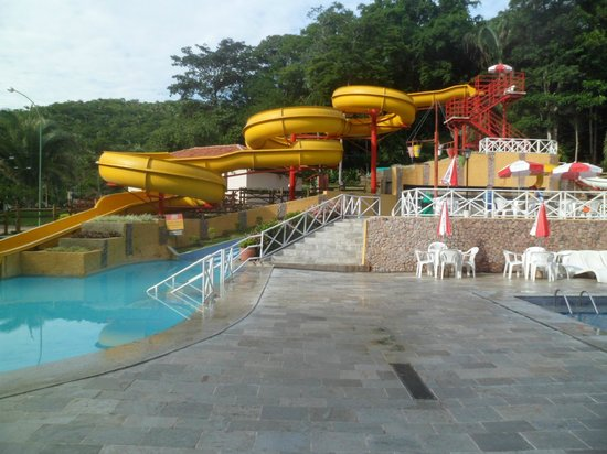 Santo Antonio do Leverger, MT: Tobogã das piscina