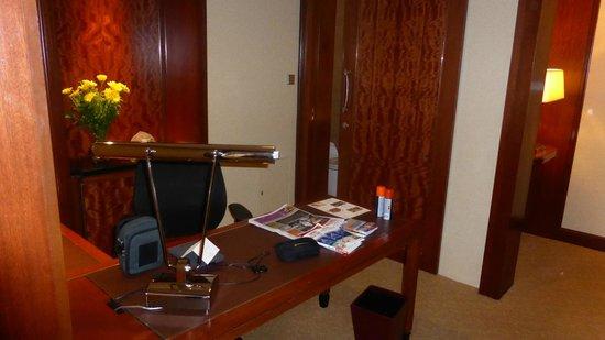 Shangri-La Hotel Kuala Lumpur: Work area