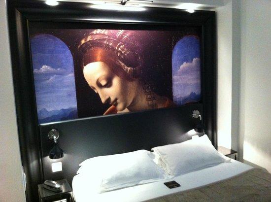 Hotel Le Clos Notre Dame : Doppelbett