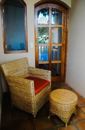 Casa Lucia Boutique Hotel & Yoga Retreat: Cuarto Sol's Private Balcony