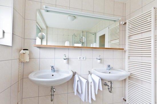 Hotel Vetter: Badezimmer