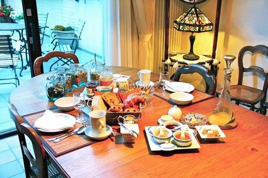 Chez Marie a Bruxelles: Le petit déjeuner