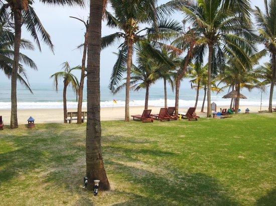 Palm Garden Beach Resort & Spa : Private beach