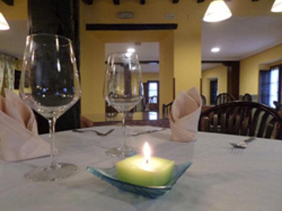Hotel Puerto Calderon: Detalle comedor
