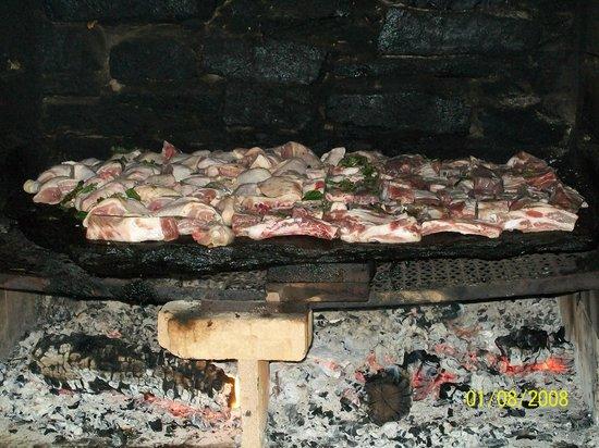 Agriturismo Fiorendo: carne sulla pietra