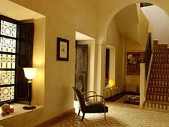Riad Magellan: Living-Room