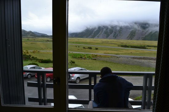 Mt Cook Lodge and Motels: view
